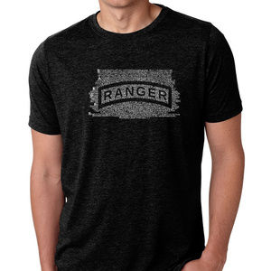Premium Blend Word Art T-shirt - US Ranger Creeed